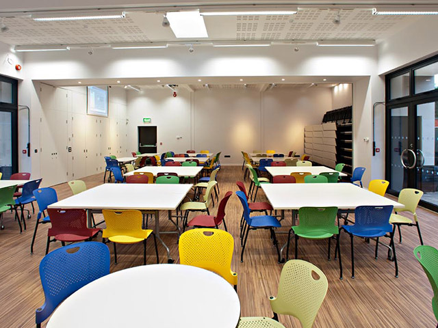 College Classroom Design Standards ~ Upson building services educational build